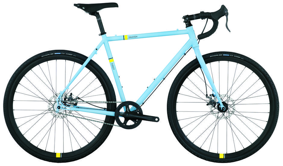 Raleigh Furley Cyclocross Bike Pros Rugged Steel Frame Disc Brakes Much Better For Cx Good Tires Cons Heavier Raleigh Bicycle Cyclocross Cyclocross Bike