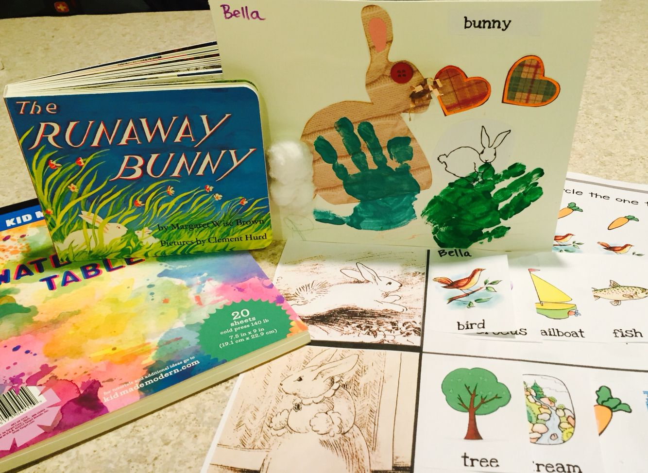 Bfiar The Runaway Bunny Craft Amp Story Worksheet