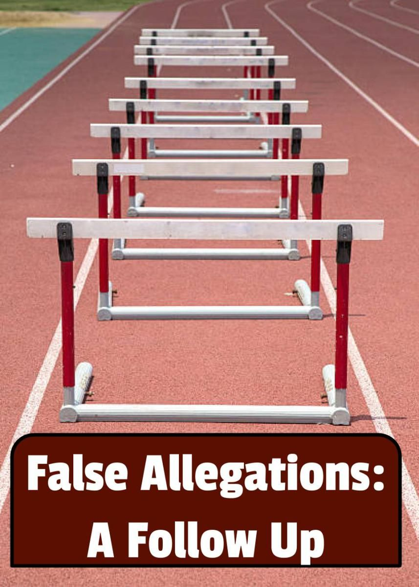 False Allegations in foster care A Follow Up Parenting