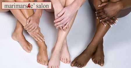 50% off - $45 for 2 laser hair removal sessions from Marimarshe' Salon in #Chicago - earn cash back at #spreadsave