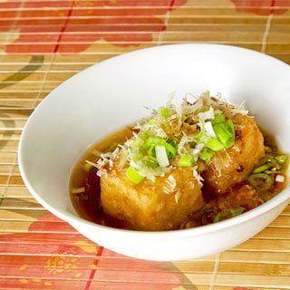 Agedashi Tofu – Deep Fried Tofu in Tsuyu Broth
