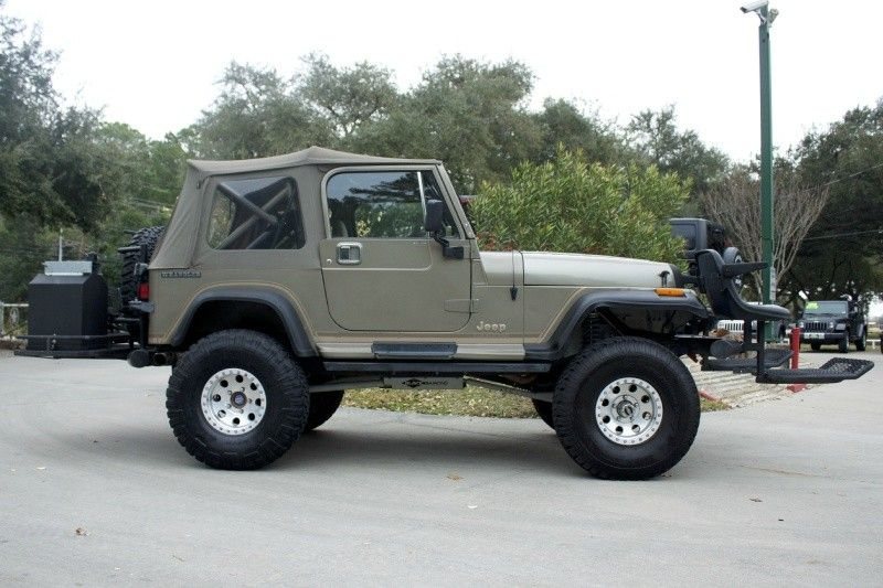 1989 perfect ranch lease wrangler coil spring suspension lift removable front bumper seats. Black Bedroom Furniture Sets. Home Design Ideas