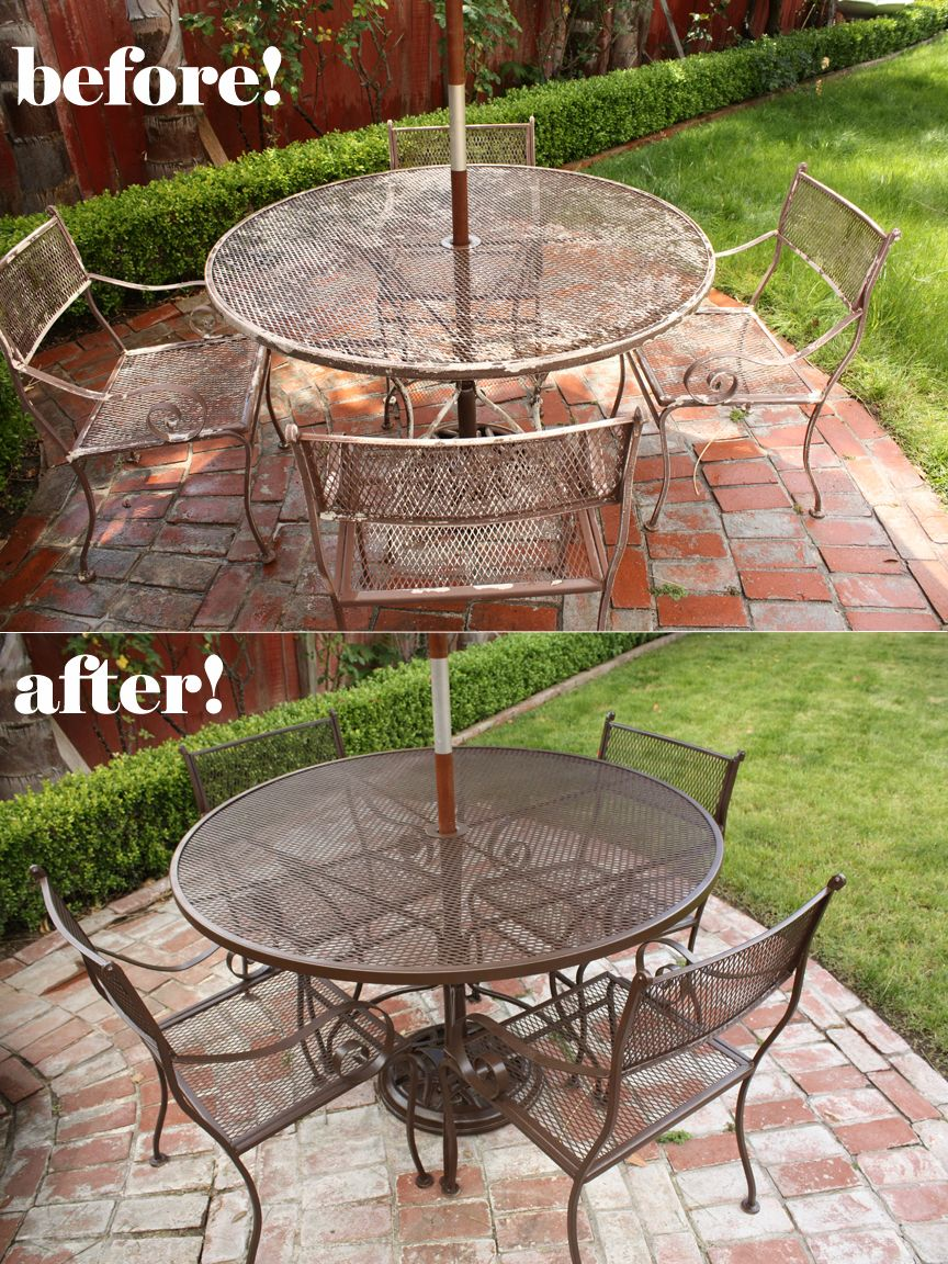 Done In Only A Few Hours By Janet L. Durable Outdoor Spray Paint Available  At
