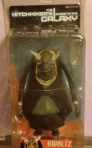 Kwaltz Toy Action Figure Neca Reel Toys from The Hitchhiker's Guide to the Galaxy Movie MIB