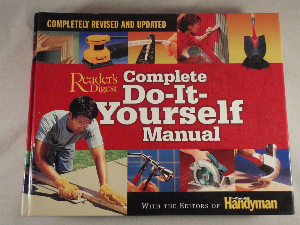 Complete do it yourself manual completely revised and updated by complete do it yourself manual completely revised and updated by family handyman magazine editors 2005 hardcover revised solutioingenieria Image collections