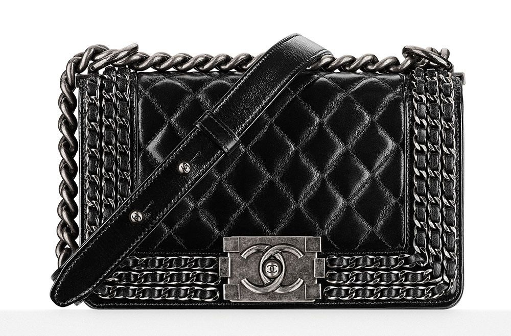 f8a333ae099d Chanel Chain-Embellished Boy Bag $5,400 | designer heaven | Girls ...