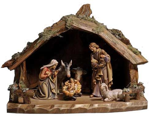8 Piece Hand Carved Italian Nativity Set 32036 Awesome Nativity