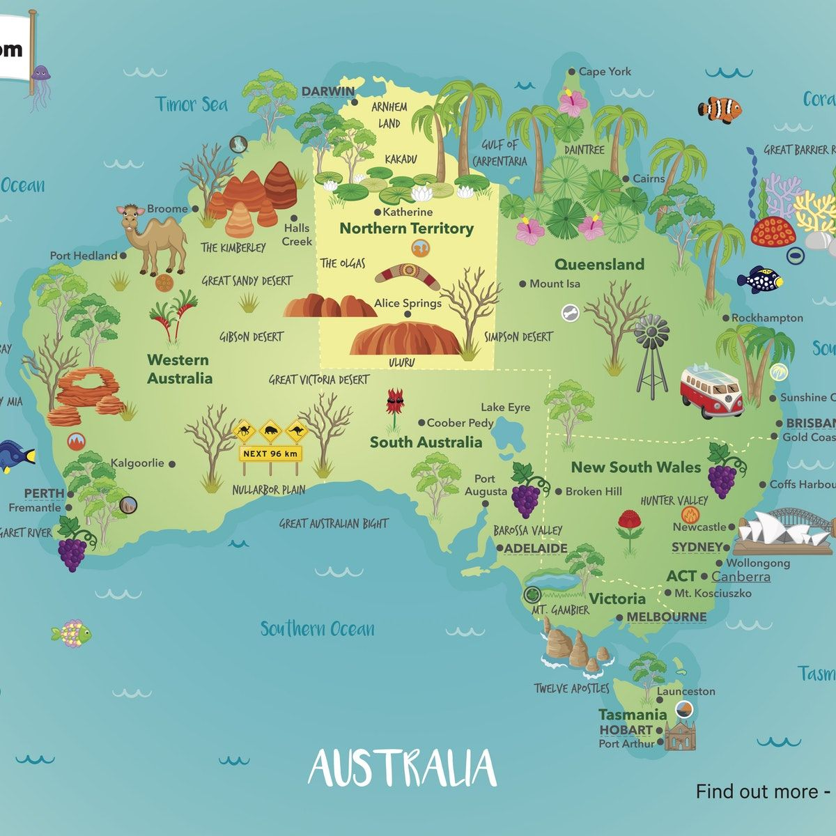 Map Of Australia For Students.Pin On Places I Want To Go Australia