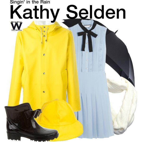 Inspired by Debbie Reynolds as Kathy Selden in 1952's Singin' in the Rain.