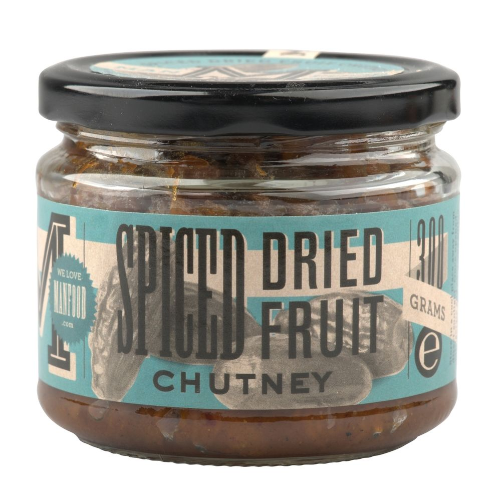 For people looking for an alternative to lime pickle, this sweet and sour dried fruit chutney has an initial sweetness and then gives you a warm heat. Great with curry, or serve with cheese and crackers.     A fruity and chunky chutney that goes well with cheese or Indian food.