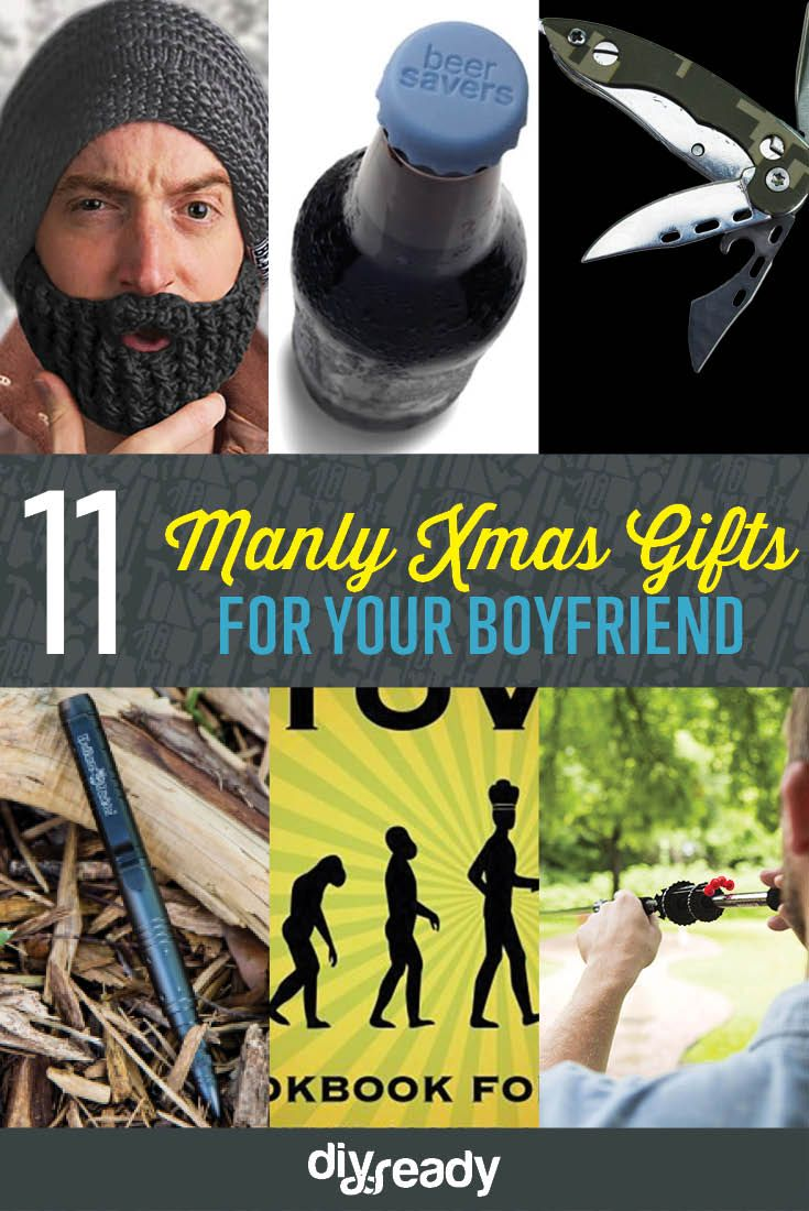 Manly Christmas Gift Ideas For Boyfriend | DIY Projects