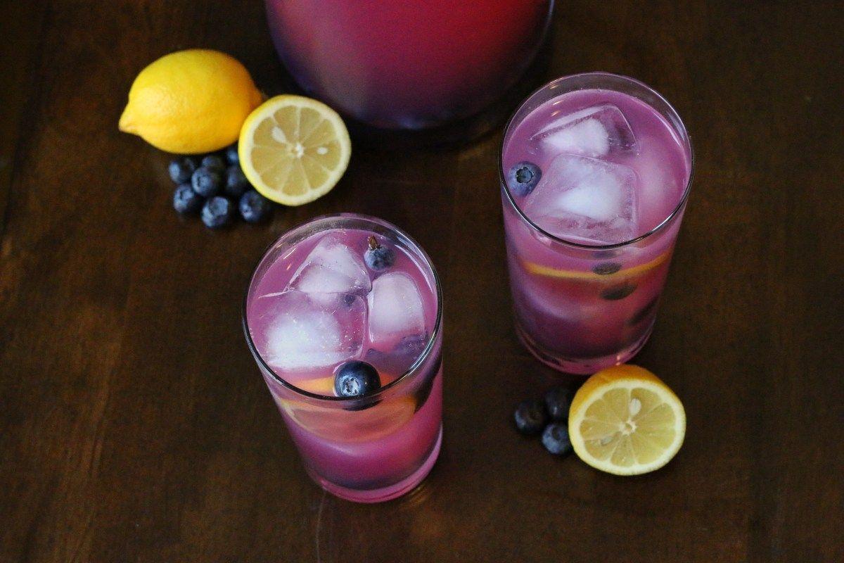 Recipe: Sparkling Ginger Blueberry Lemonade by lexeats.com