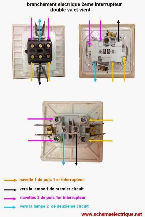 schéma électrique d\u0027 installation double va et vient - schéma de