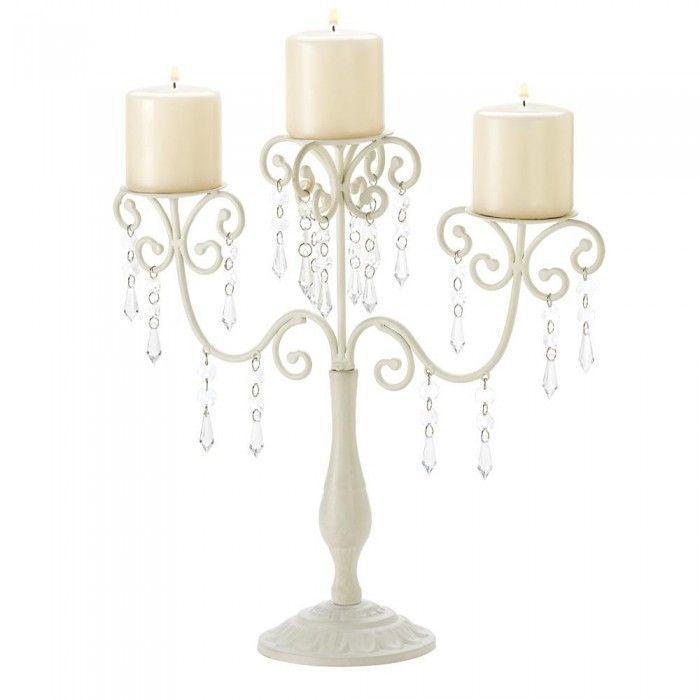 Old World Elegance: Gallery Of Light 39784 Ivory Elegance Candelabra