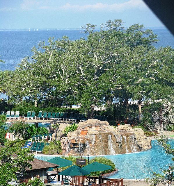 Grand Hotel Pool As Seen From Our Room Hotel Points Alabama Vacation Grand Hotel