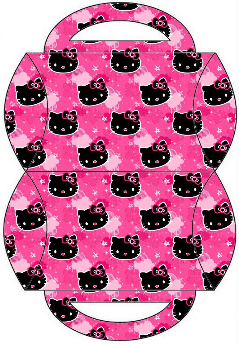 Kit Hello Kitty Pink e black