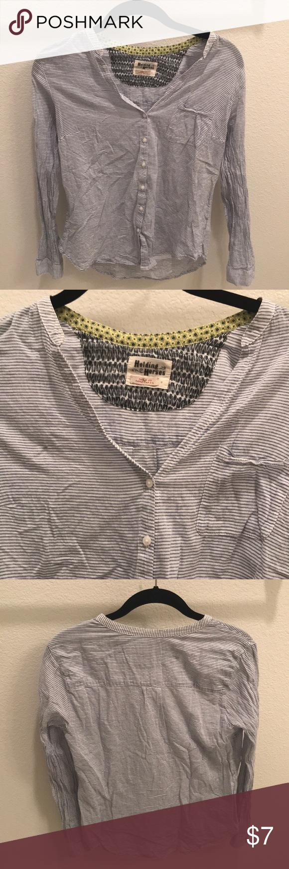 Flannel into dress  Anthropologie Striped Flannel  My Posh Picks  Pinterest  Flannel
