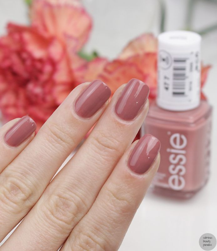 Essie 477 Sorrento yourself + Vergleich