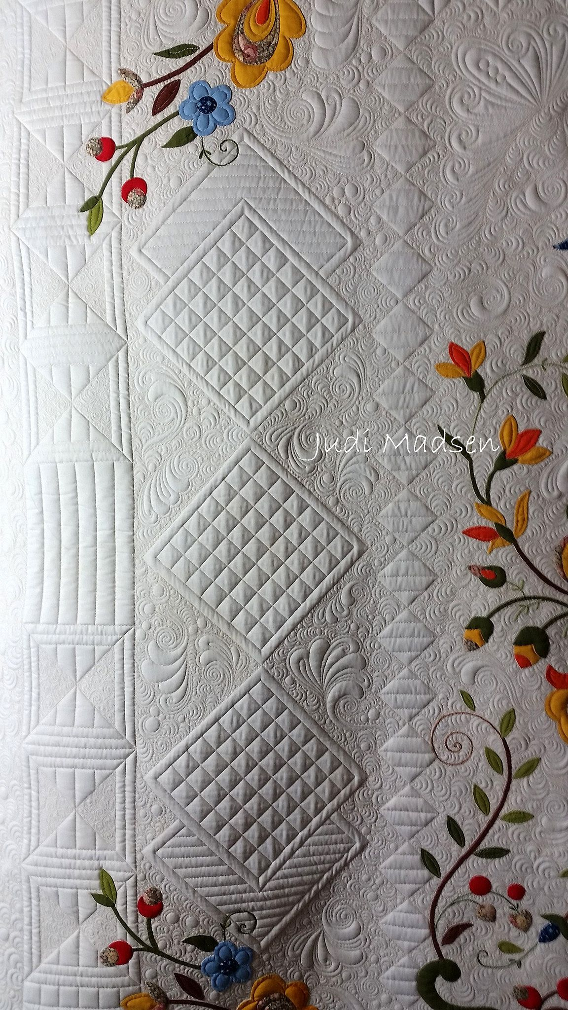 8 | Discover more ideas about Quilting designs, Free motion ... : judi madsen quilts - Adamdwight.com