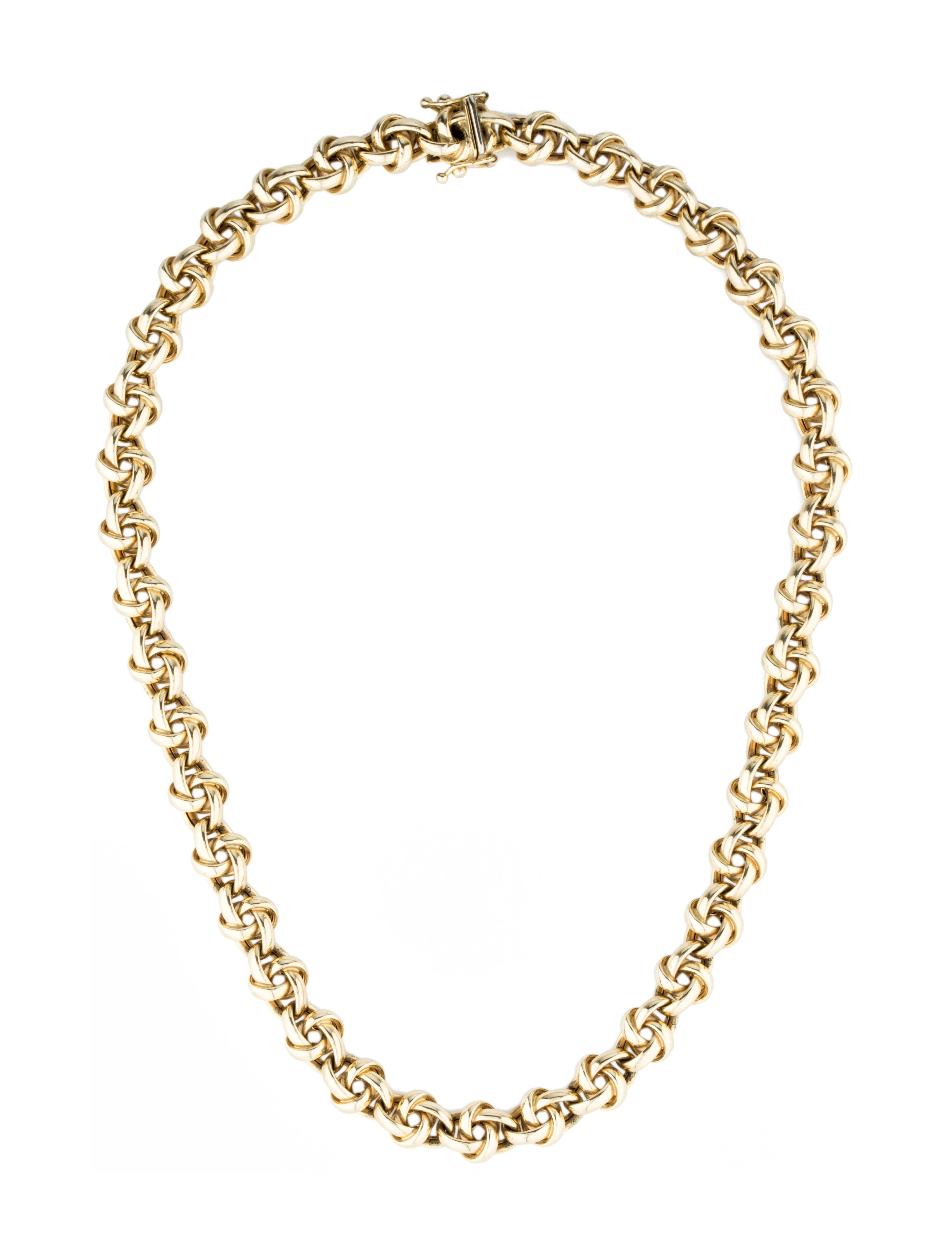 K gold chain necklace jewelry organizer pinterest gold