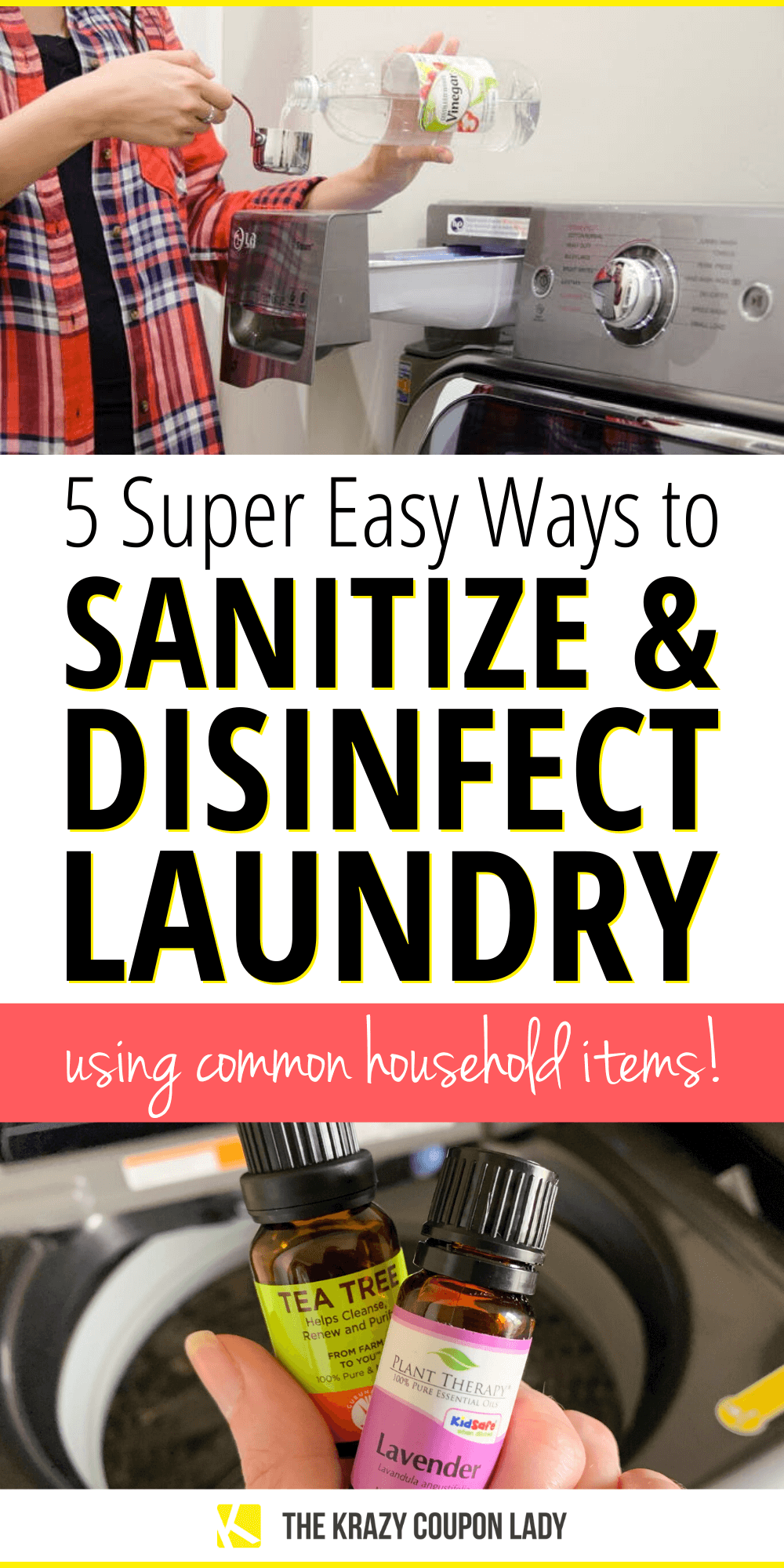 How to Sanitize & Disinfect Laundry with Common Household