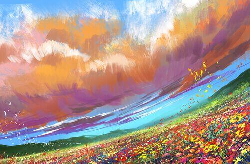 Upea maalaus on kivunlievitys