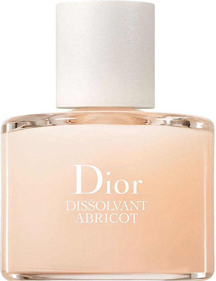 I LOVE IT.  Dior Dissolvant Abricot Gentle Nail Polish Remover 50ml