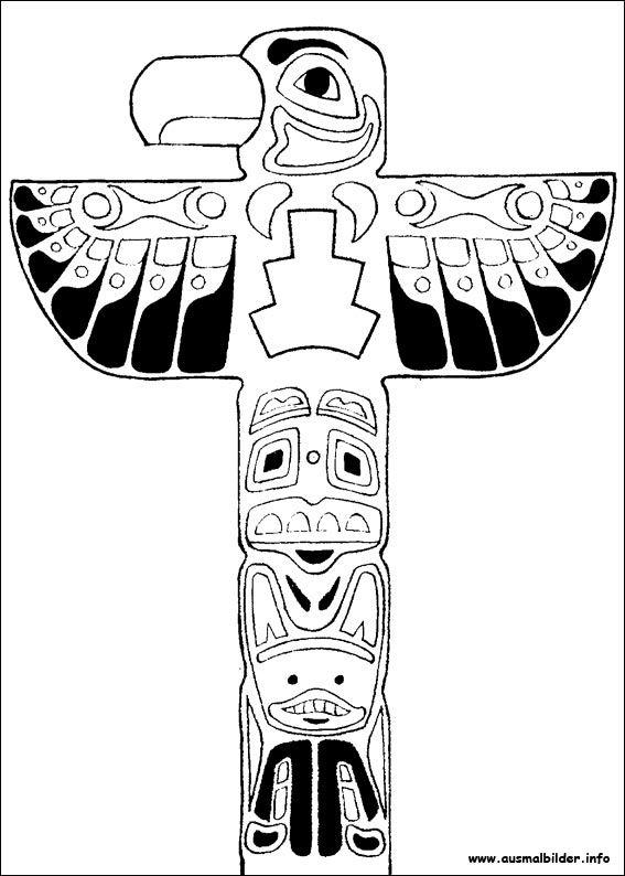 yakari malvorlagen | native american crafts, totem, native