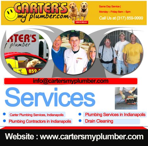Carter Plumbing Services Indianapolis Cartersmyplumber Commercial Plumbing Plumbing Plumbing Problems