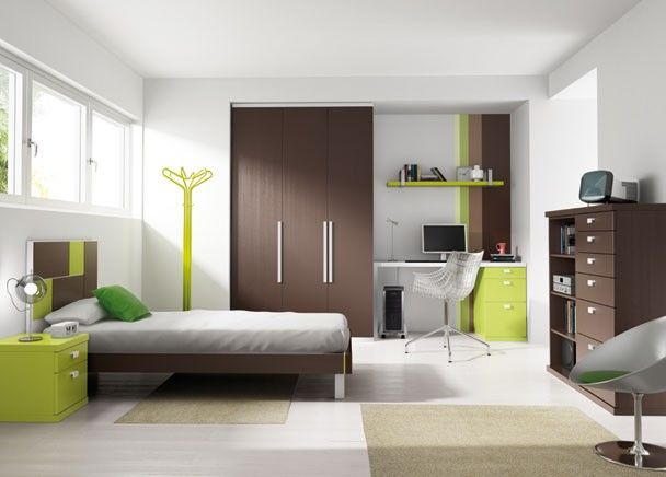 Dormitorio Juvenil con Cama con Bañera   juego alcobas   Pinterest ...