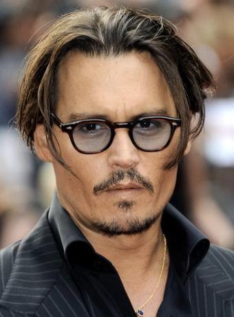 Johny Depp Undercut
