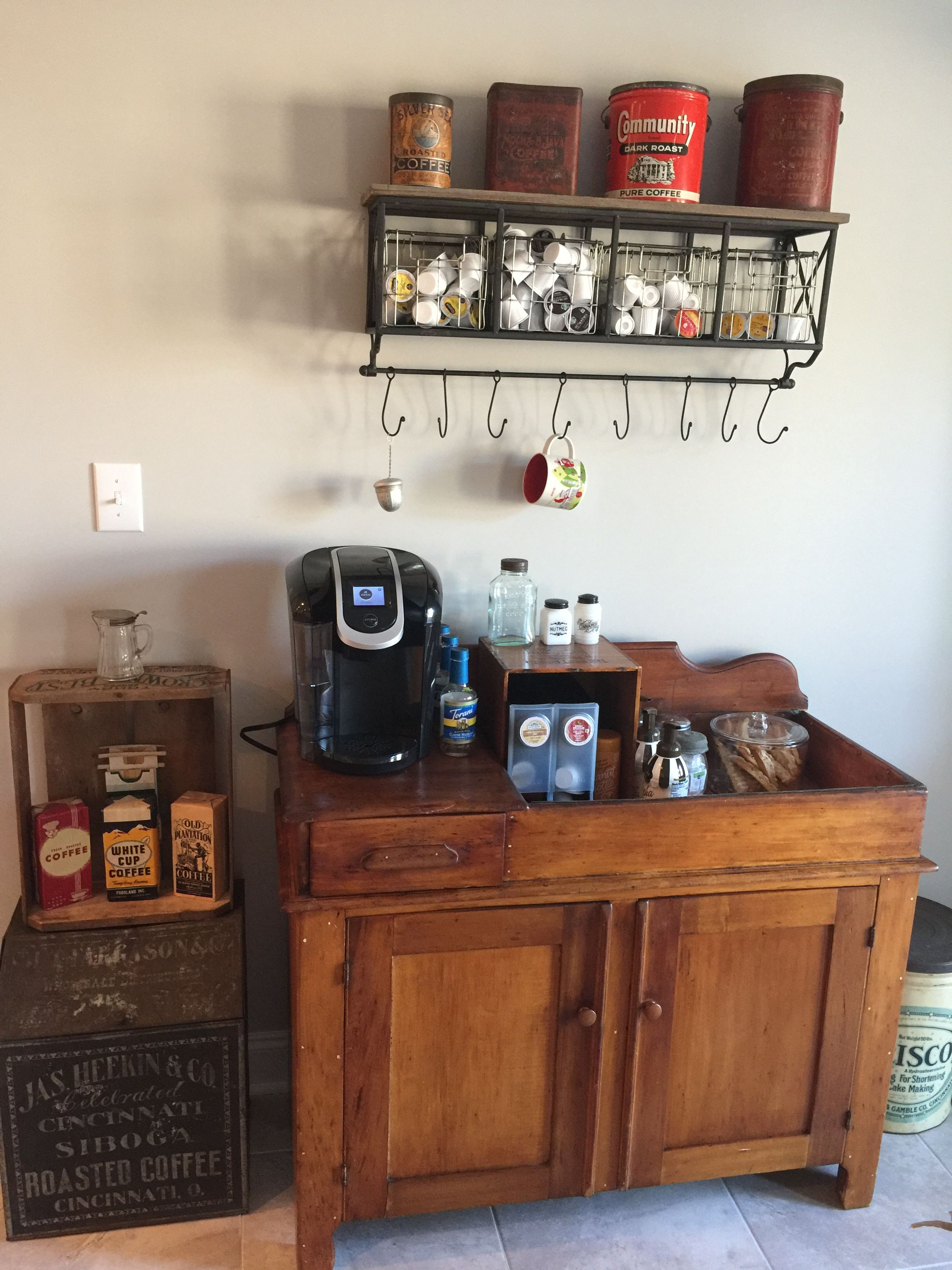 Here Are Brilliant Coffee Station Ideas For Creating A Little Corner That Will Help You Decorate Your Home Find And Save About