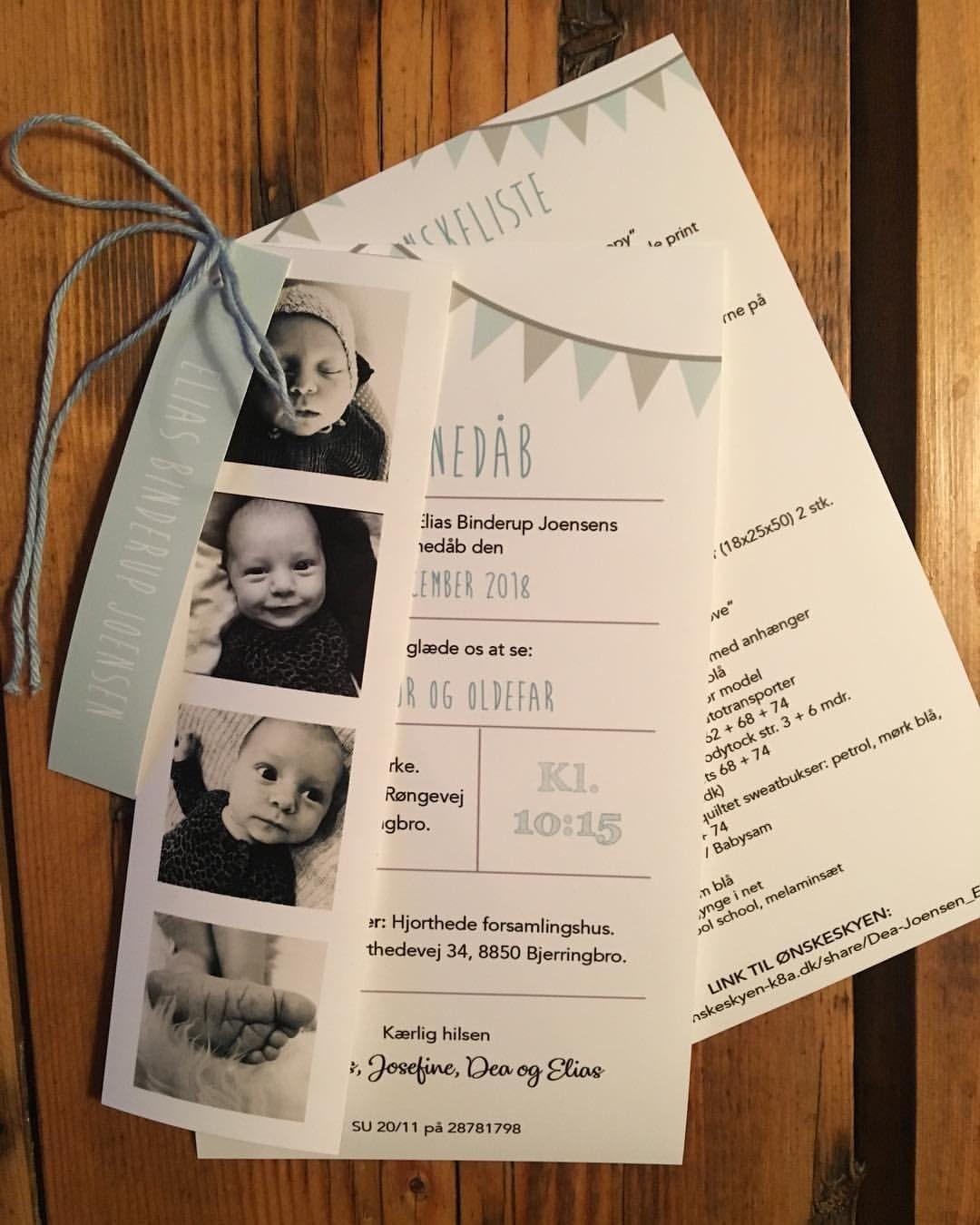 barnedåbs prep invitationer barnedåb prep december elias
