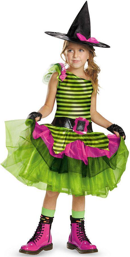 Disguise Girls\u0027 or Little Girls\u0027 Whimsy Witch Costume Fancy Dress - cute childrens halloween costume ideas