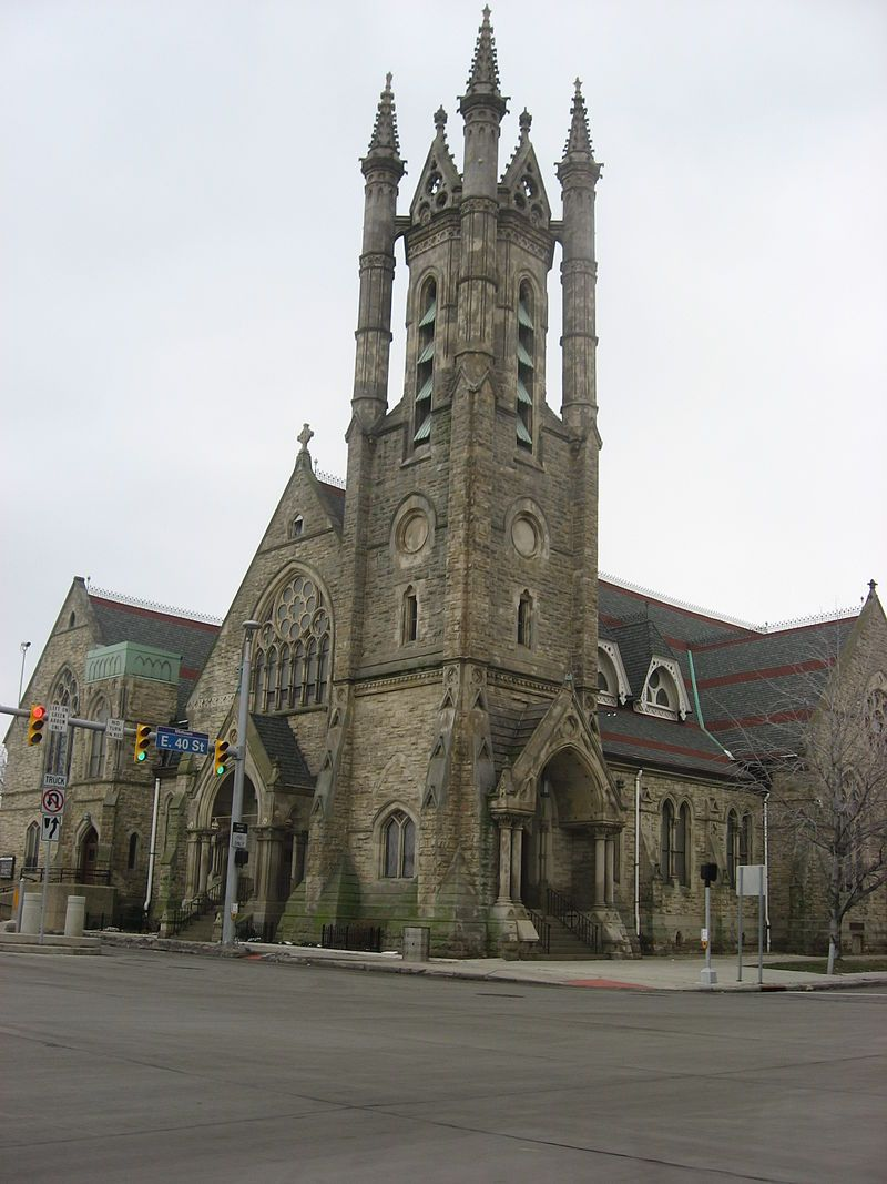 St. Paul's Episcopal Church in Cleveland, Ohio.