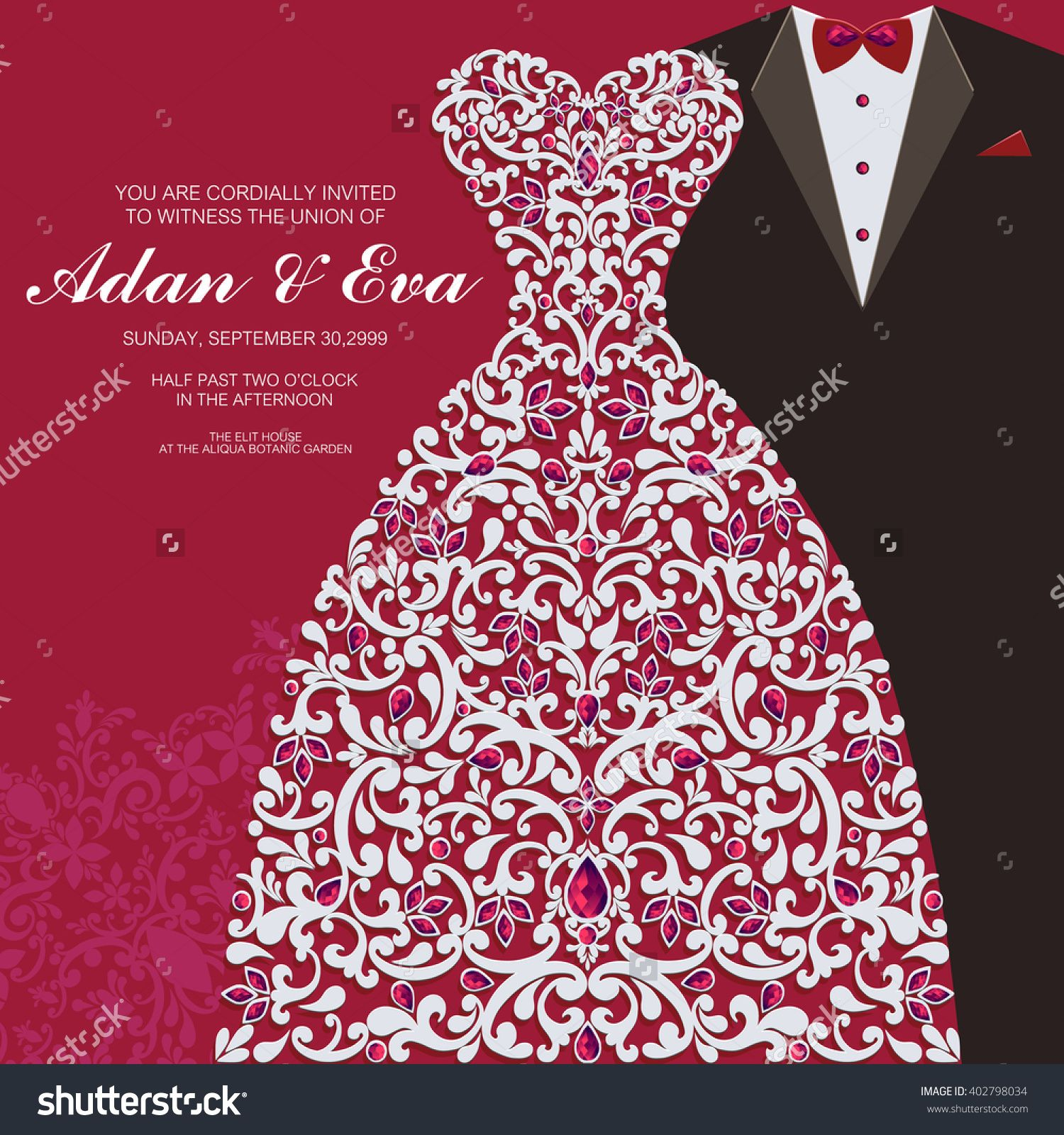 stock-vector-wedding-invitation-or-card-with-abstract-background ...