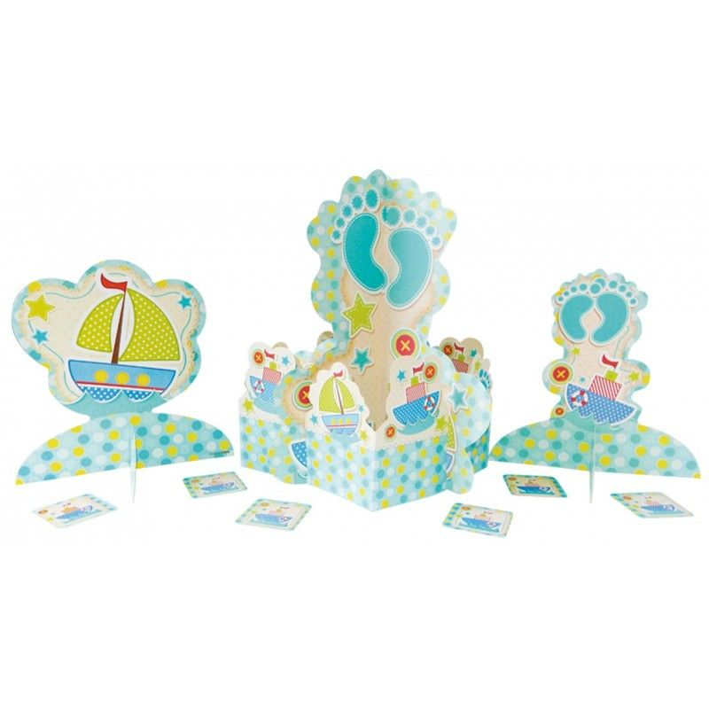 Centro de mesa para baby shower - Canelo Regalos Baby Shower - centros de mesa para baby shower