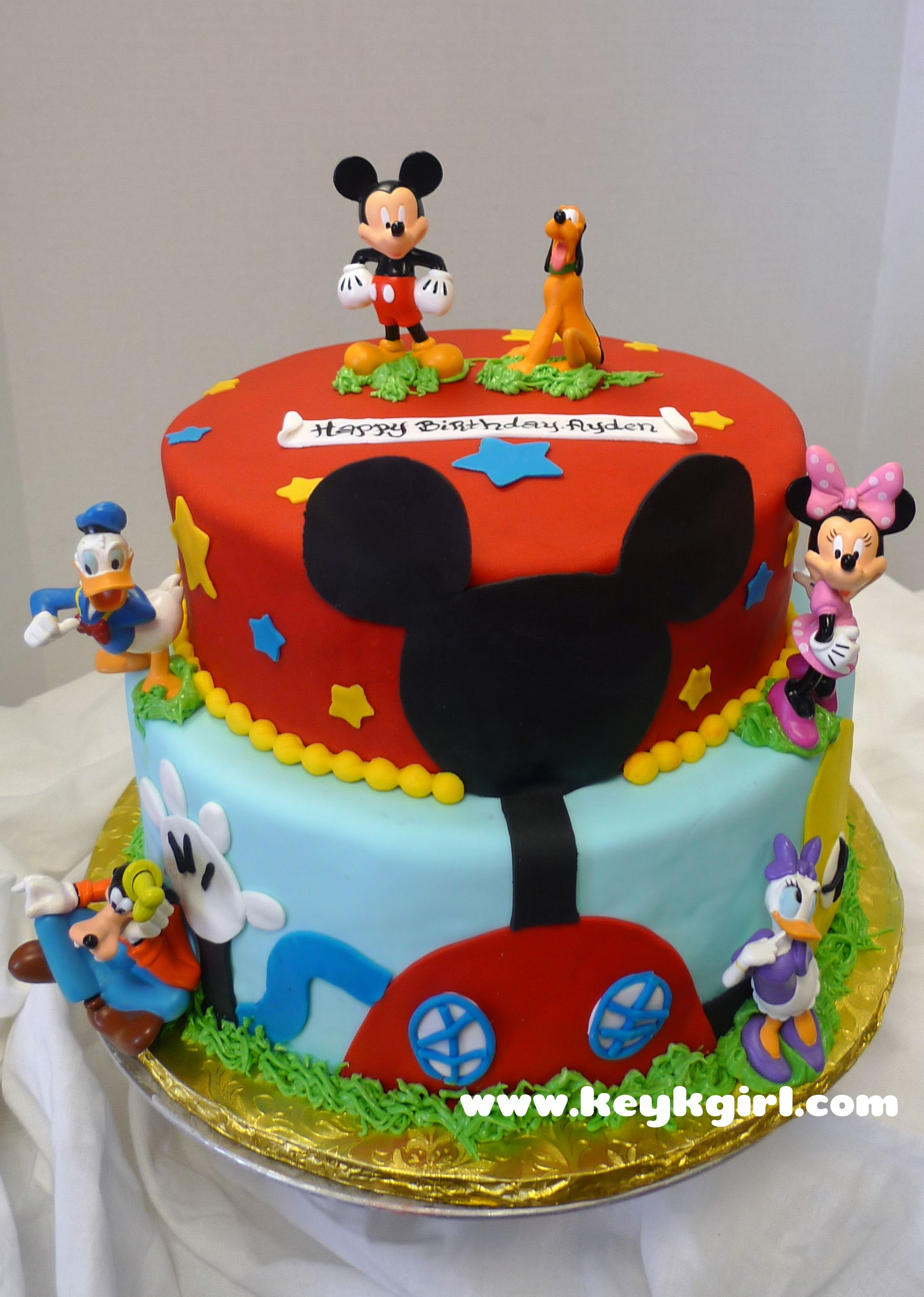 Mickey Mouse Clubhouse Cake By Admin Published June 20