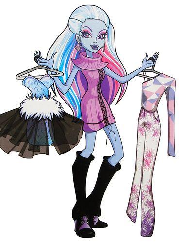 Abbey Bominable I Fashion Monster High Art Monster High Pictures Monster High Characters