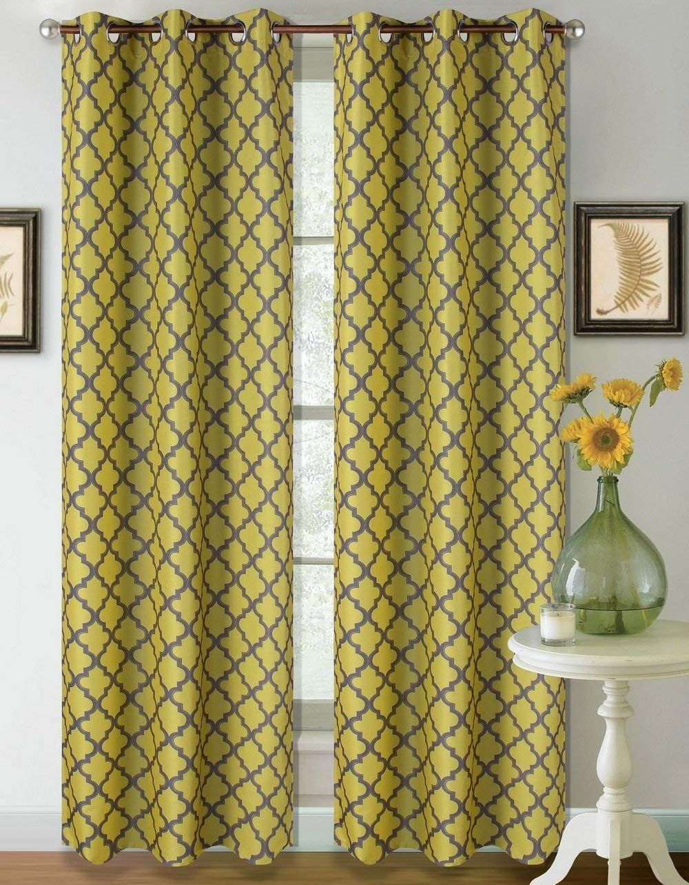Heavy Thermal Curtains Heavy Thick Thermal Insulated Lined Blackout Window Curtain Drape