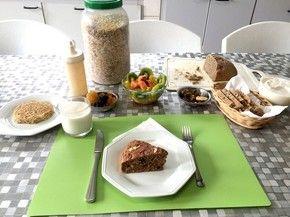 Opção de café da manhã vegano (Foto: David Wesley Silva)