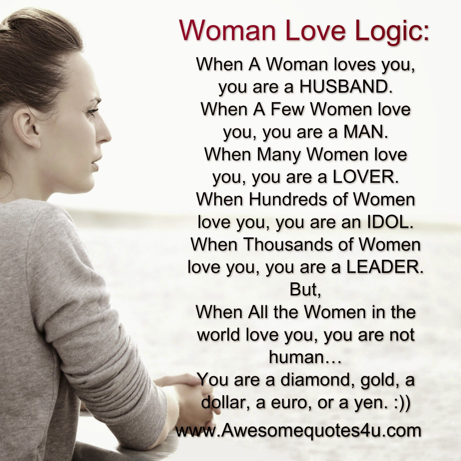 Woman logic relationship