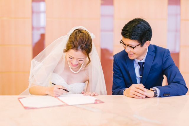 Charming City Hall Celebration Hong Kong Wedding Wedding Photography Wedding Blog
