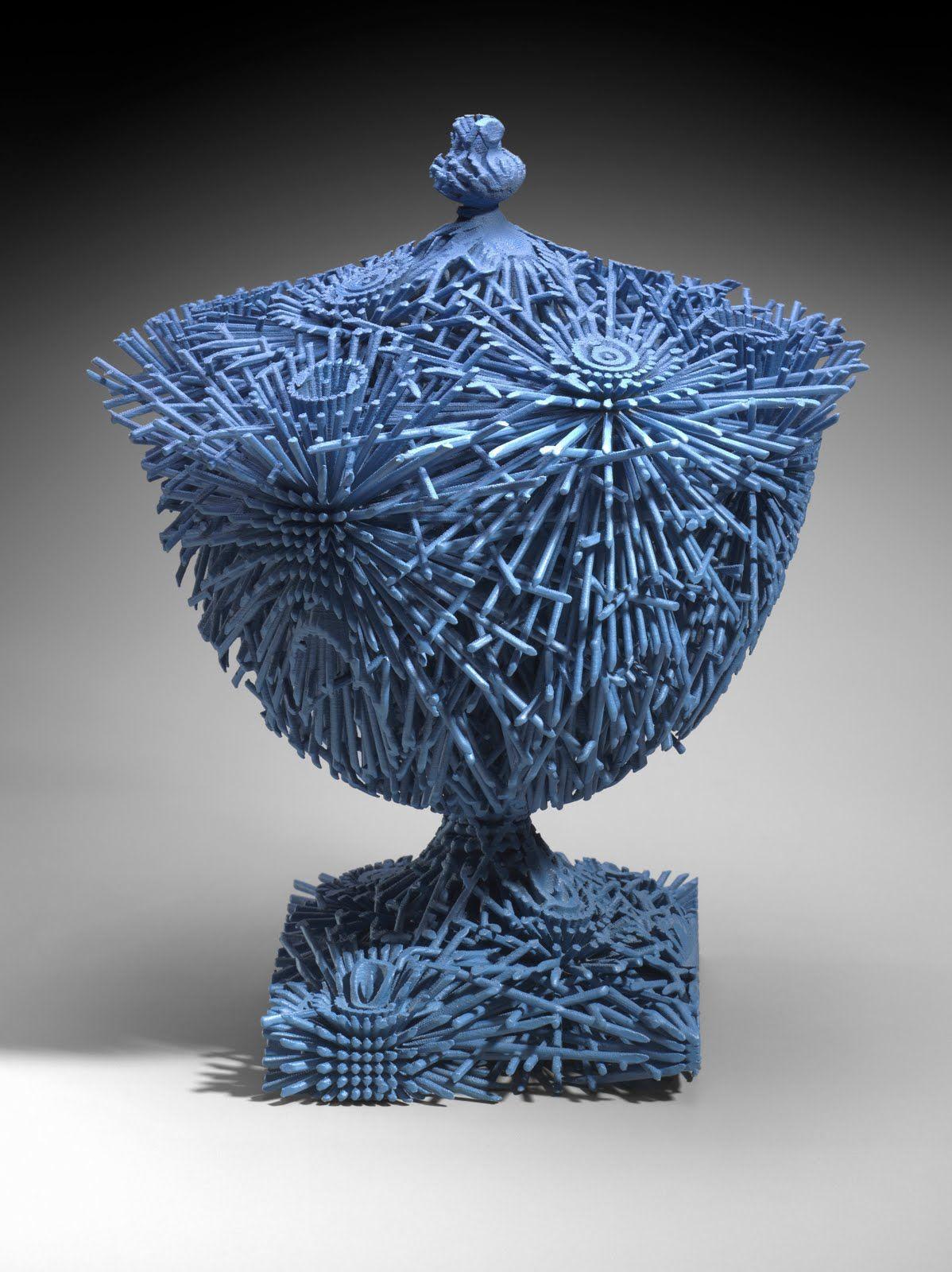 Ceramics michael eden artist bloom 2010 made by