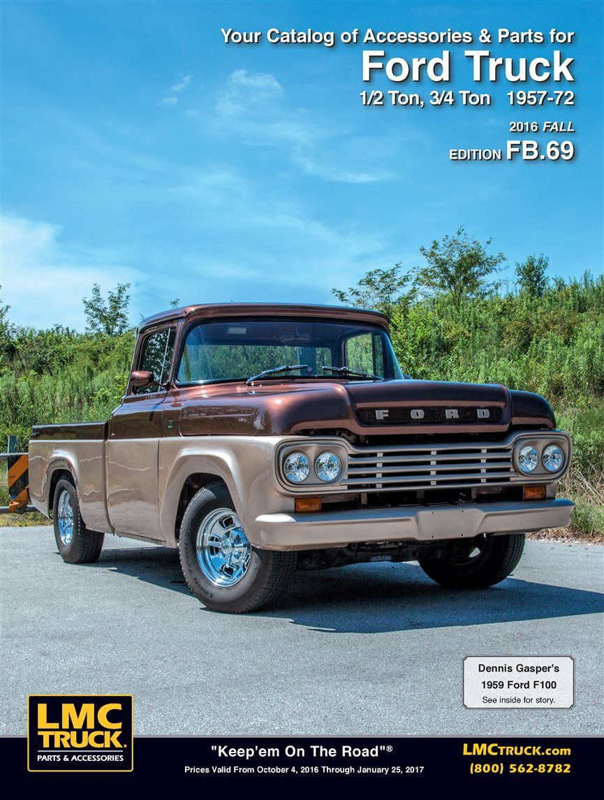 Ford Truck Parts >> Truck Parts And Truck Accessories All Prices Truckin 1959 Ford