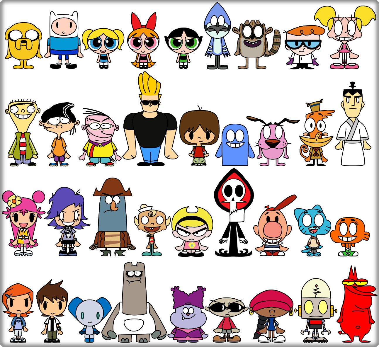 Cartoon Coloring Pages Printable Coloring Pages Images Cartoon Network Characters Old Cartoon Network Old Cartoons
