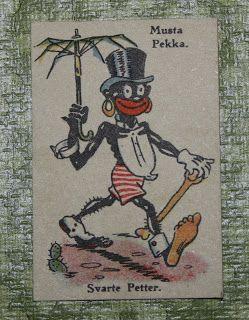 """FiinanTaika: Vanha kunnon Musta Pekka"""" Tämä on vielä karkeampi kuva kuin nykyisin tunnettu mustapekka pelin kuva."""