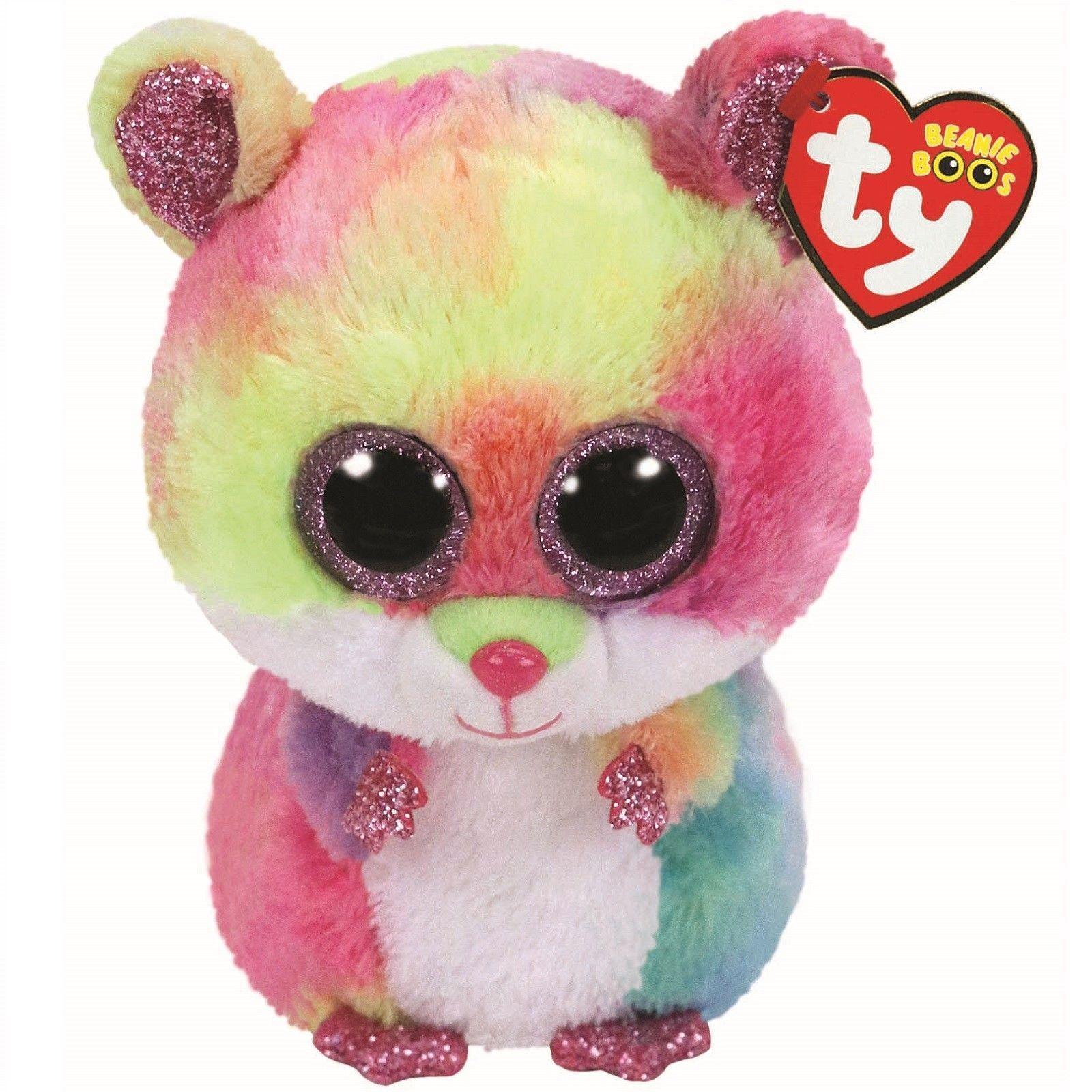 TY Beanie Boo Cuddly Cute Soft Plush Fox Toy Children Kids Gift Fun Play 15cm