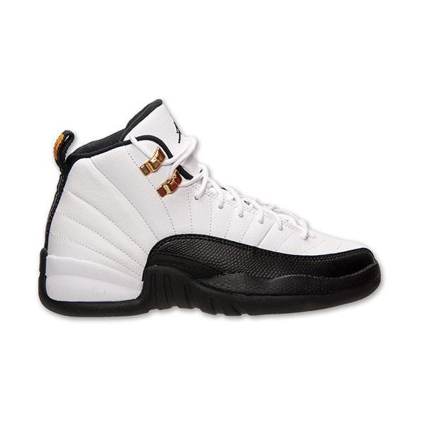 f6d419de36f1 Boys  Grade School Air Jordan Retro 12 Basketball Shoes ( 75) ❤ liked on  Polyvore featuring shoes