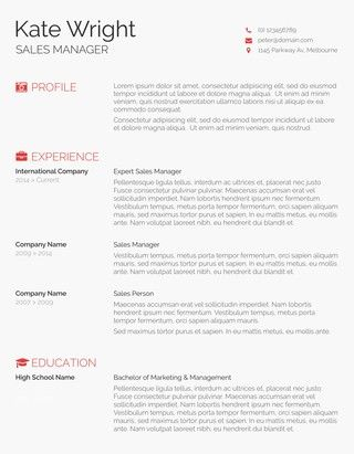 85 Free Resume Templates for MS Word Layouts
